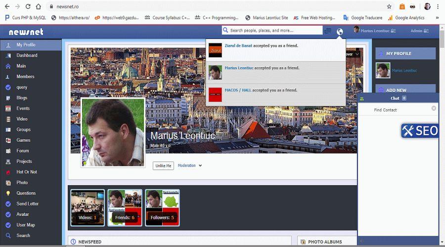 newsnet.ro alternativa la facebook, pe PC e de 15 ori mai rapid – Ziarul de Banat