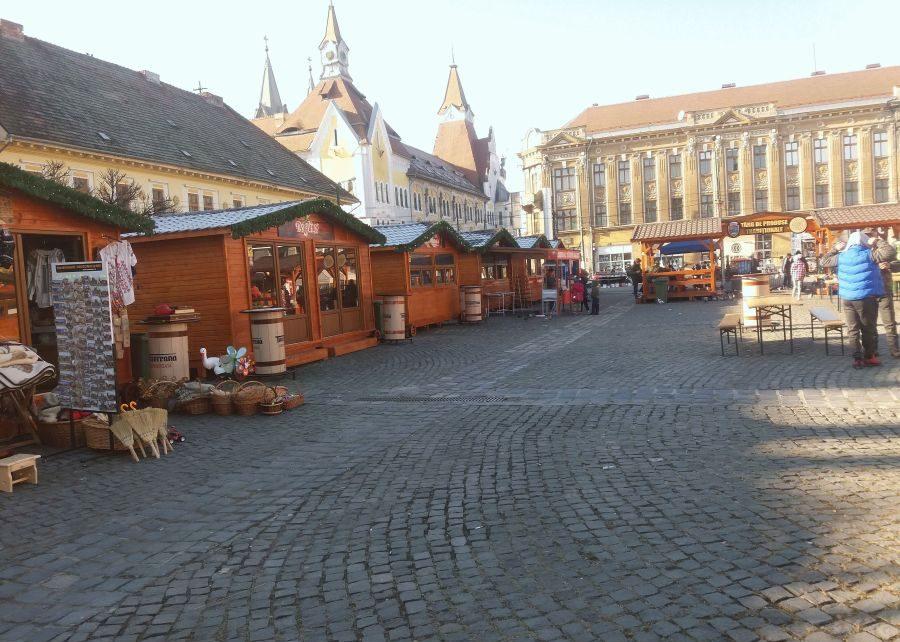 Piața Traian din Timișoara va găzdui un târg de Crăciun secundar. Arată precum o poveste | - Ziarul de Banat - (c) Leontiuc Marius Platform